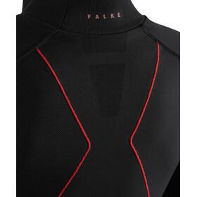 Falke Maximum Warm Camiseta Manga Larga Cuello Tortuga Mujer, negro